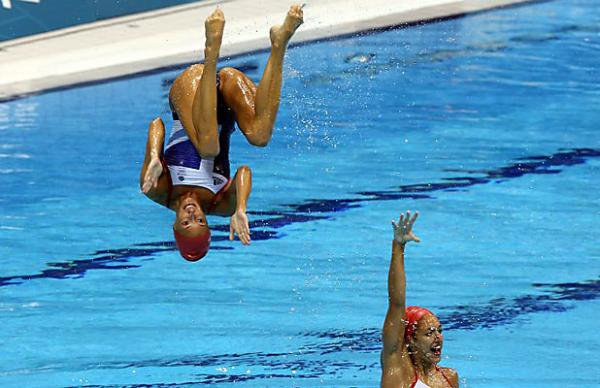 Great Britain synchronised swimmers