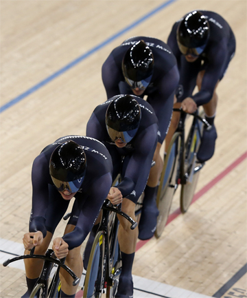 NZ team pursuit