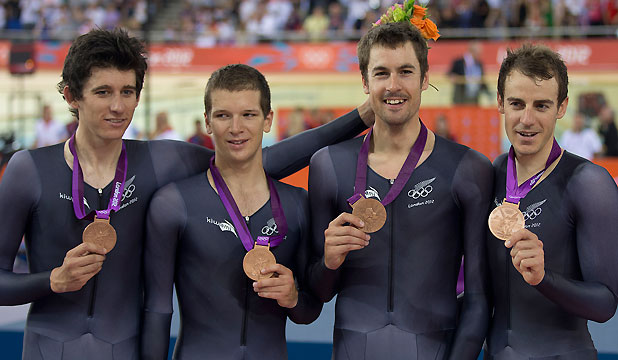 Sam Bewley, Marc Ryan, Jesse Sergent and Aaron Gate