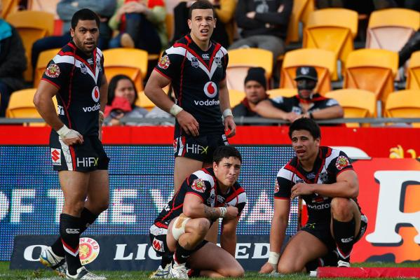 Warriors v Sharks