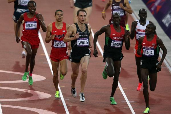 New Zealand runner Nick Willis qualifies for the men's 1500m at the 2012 London Olympic Games after finishing third in the semifinal.