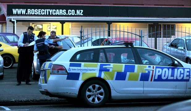 Armed robbery - Palmerston North