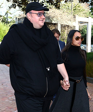 Kim Dotcom and Mona Schmitz