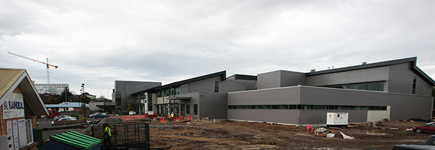 ALMOST DONE: The final touches are being put on the second stage of the new Braemar Hospital, which will officially open next month.