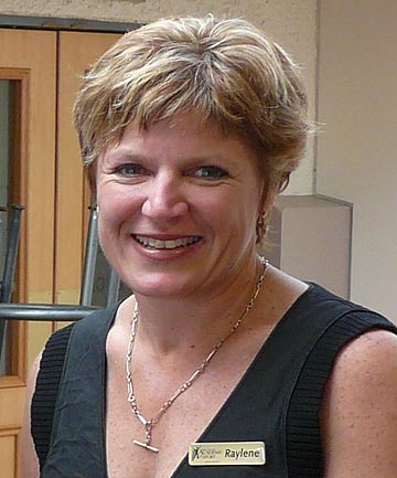 A 2009 file photo of New Zealand athletics official Raylene Bates.