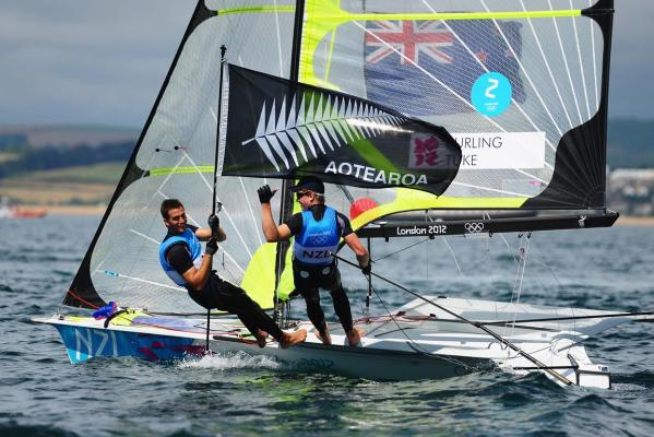 Silver for Kiwi 49ers