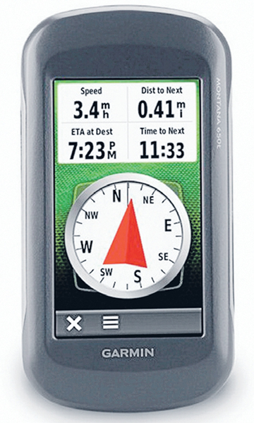 Garmin's Montana 650t is a high-end GPS developed for outdoor enthusiasts.