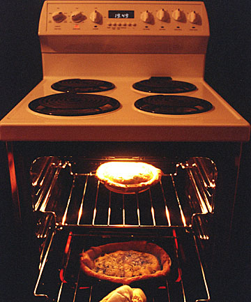 Stove oven cooking