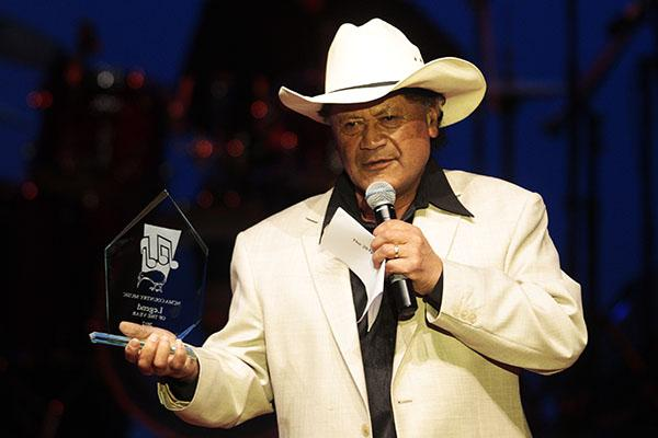 Dennis Marsh was awarded the Music Legend Award at the 7th National Country Music Awards at Founders Theatre.