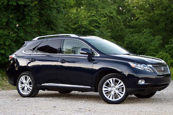 The Lexus RX450h