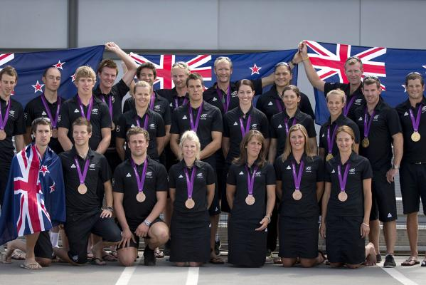 NZ medallists