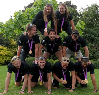 New Zealand rowers