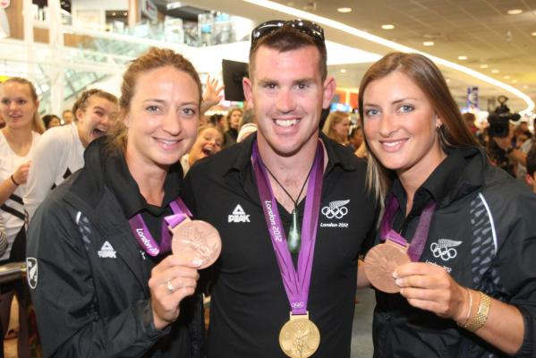 NZ Olympians arrive home
