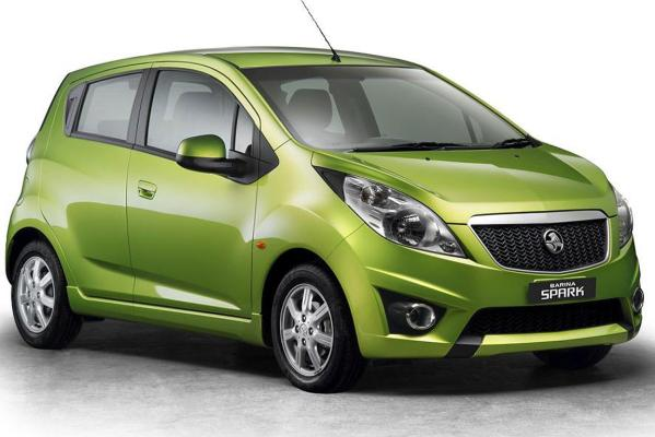 The Holden Barina Spark upon which the new Trax is based.