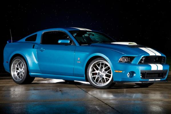 A 625kW version of the Mustang-based Shelby GT 500.