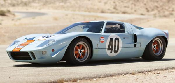 The Ford GT40 once owned by Stev