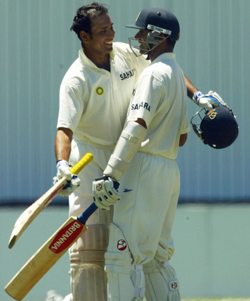 Laxman and Dravid
