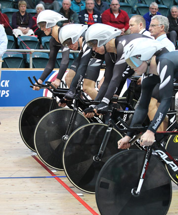 Junior world track cycling