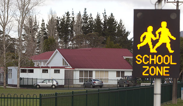 TRUST BREACHED: Pamapuria School in Kaitaia, where James Parker worker as deputy principal.