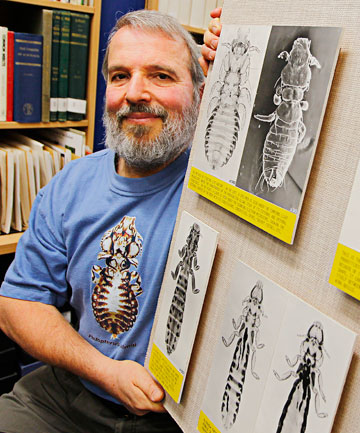 Ricardo Palma has a new genus of avian lice named after him