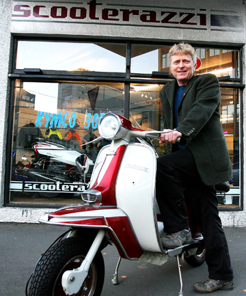Scooterazzi owner Mark Hodson says sales surge when petrol goes up