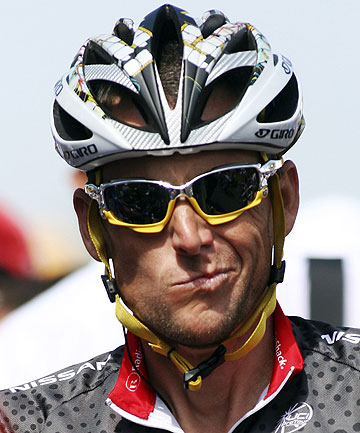 LEGACY: Lance Armstrong might be guilty of doping in some people's eyes - but he's still an inspiration for others.