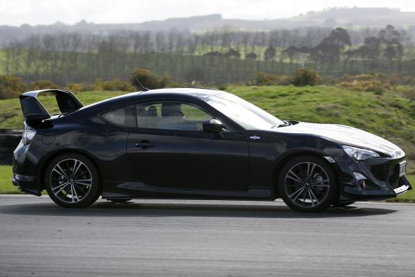 The Toyota 86 sports car in