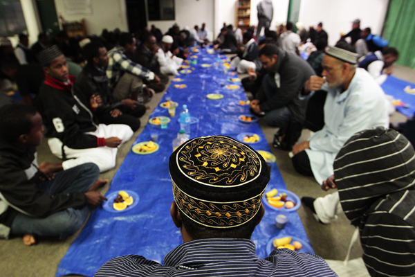 PRAYERS: People will be able to sample 46 different culinary treats from around the world, look inside the mosque and ask questions about the religion.