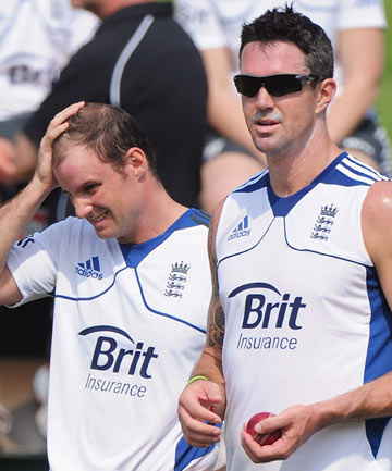 Andrew Strauss and Kevin Pietersen.