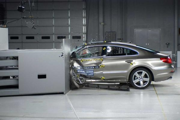 Volkswagen CC: The IIHS scored it as marginal when the driver's door fell off.