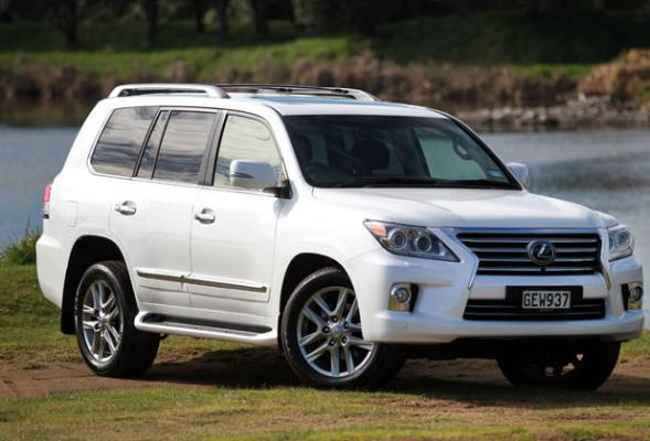 The Lexus LX570 SUV