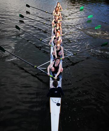 Craighead rowing eight