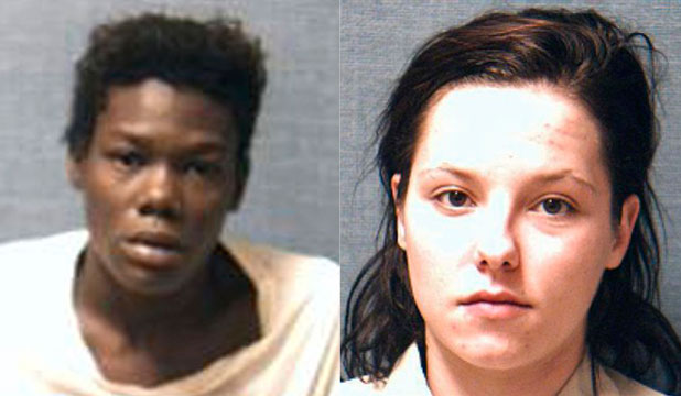 Katrina Marie Culberson (right) and Monica Jean Washington could face the death penalty over the gruesome death of Celeste Fronsman.