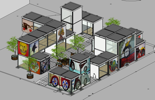 Thinking outside the square for Architects creative christchurch
