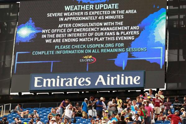 Weathern warning