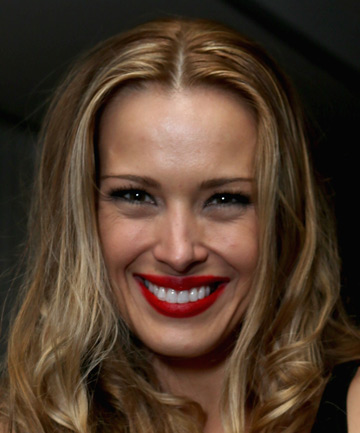 BEAMING: Model Petra Nemcova.