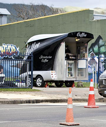 Shannon coffee cart