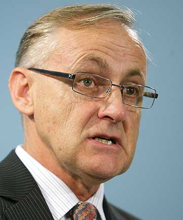 Reserve Bank governor Allan Bollard