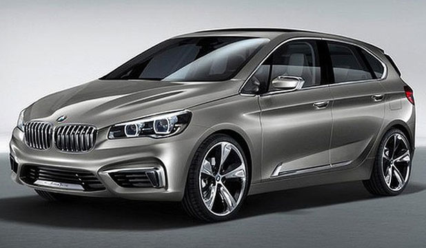 BMW's new Concept Active Tourer.