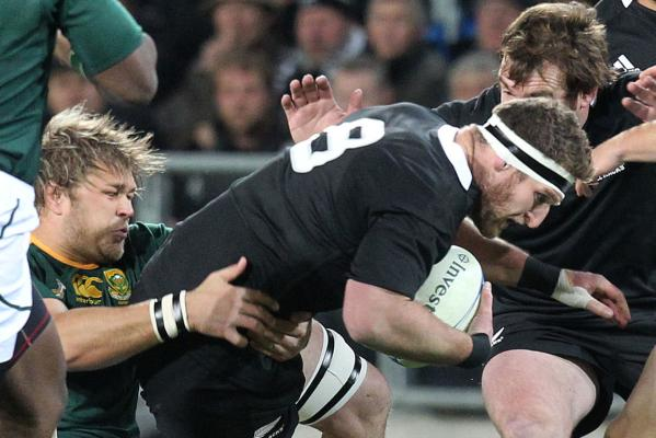 All Blacks v Springboks