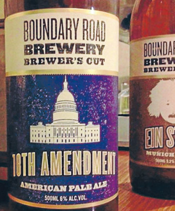 18th Amendment: American Pale Ale.