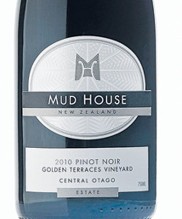 Wine: Mud House Pinot Noir 2010.