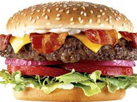 Carl's Jr burger