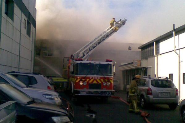 Mt Eden fire