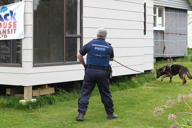 A house in the depot of Jack House Transit at 128 Kahikatea Dr received minor damage from a small fire at about 12.30pm.
