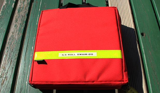 An  A4-sized pack, similar to the one above, was stolen from an ambulance in Temuka.