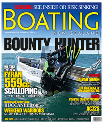Boating NZ October 2012 cover