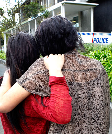 The cousins, aged 14 and 16, who were arrested and strip-searched by Upper Hutt police