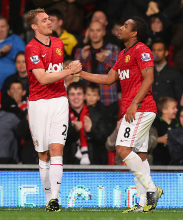 Darren Fletcher and Anderson