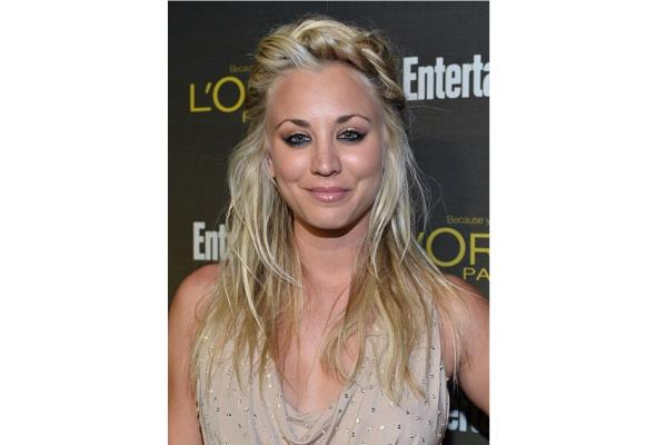 Makeup mistakes Kaley Cuoco